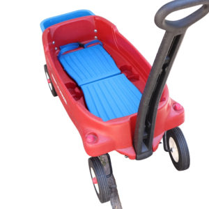 Radio Flyer Pathfinder Wagon with Basket