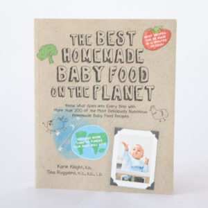 The Best Homemade Baby Food Cookbook