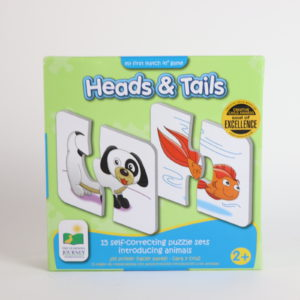The Learning Journey Heads and Tails Matching Puzzle