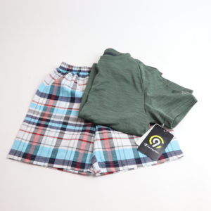The Plaid Short Set Size 4-5