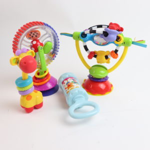 The Spin and Play Rattle Set