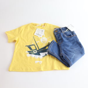 Zara Jeans and Tee Size 18-24M