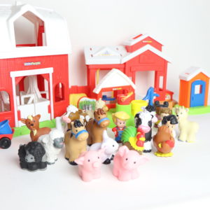 Fisher-Price Little People Farm and Stable Set