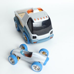 Enduro Toy Truck and Racer