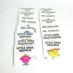 Little Miss and Mr. Softcover Set