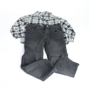Baby Gap Jeans and Button Up Size 4