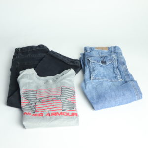 Jeans and Under Armor Tee Set Size 4T