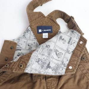 Peanuts by Baby Gap Overalls Size 12-18M