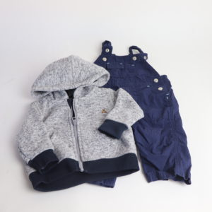 Baby Gap Sweater and Overall Set Size 3-6M