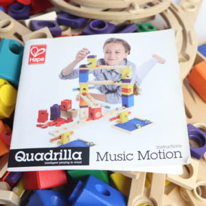 Hape Quadrilla Marble Run Set