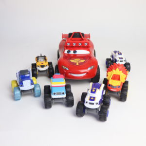 Disney Cars Lightning McQueen and Monster Trucks