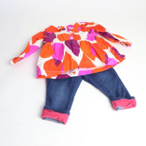 Gymboree Top and Jeans Size 12-18M