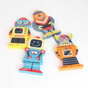 R is for Robot Play and Learning Set