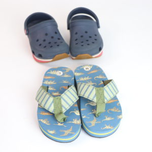 Crocs and Flops Shoe Set 6/7