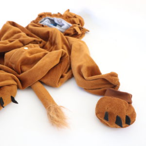 Lion Costume Size Toddler Large