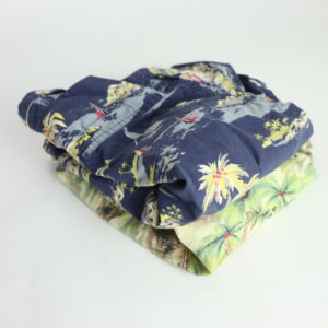 Hawaiian Button-Up Shirt Set Size 3T
