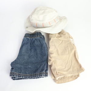 The Shorts and Sunhat Set 18-24M