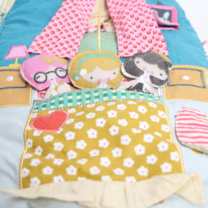 Land of Nod Carry Home Cloth Dollhouse