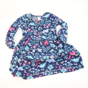 Carter's Dino-Print Dress Size 4