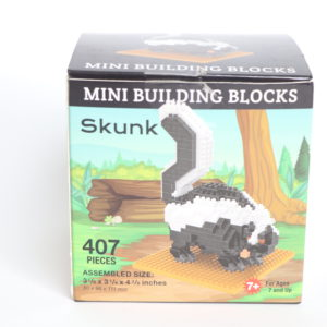 Mini Building Blocks Skunk Building Set