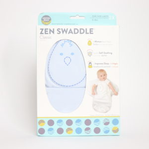 Nested Bean Zen Swaddle Blue 0-6M