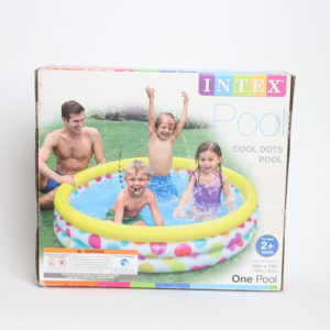 Intex Cool Dots Inflatable Kiddie Pool