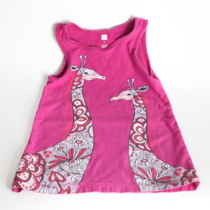 Tea Collection Giraffe Dress 3T