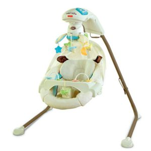 Fisher-Price My Little Lamb Cradle N' Swing