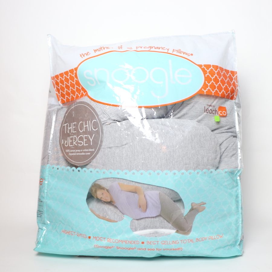 Leachco Snoogle Chic Jersey Total Body Pregnancy Pillow Toycycle Baby Kids Online Thrift Store